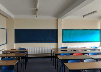 Commercial & Residential Painting and Decorating Contractors in Cardiff & Bristol - our recent work - School classroom
